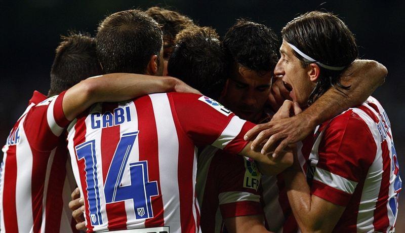 Gol del Atlético de Madrid