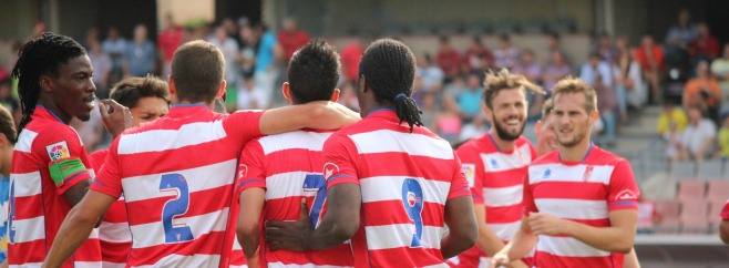 Granada B almeria B gol de Nico