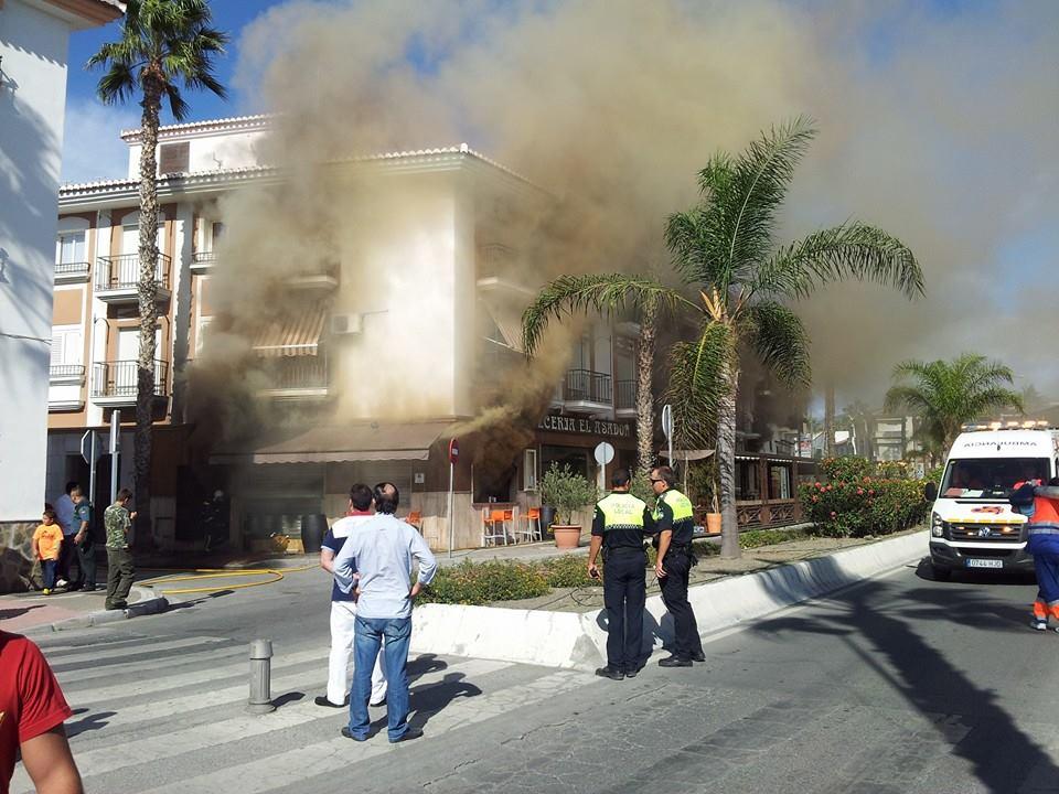 incendio Salobreña