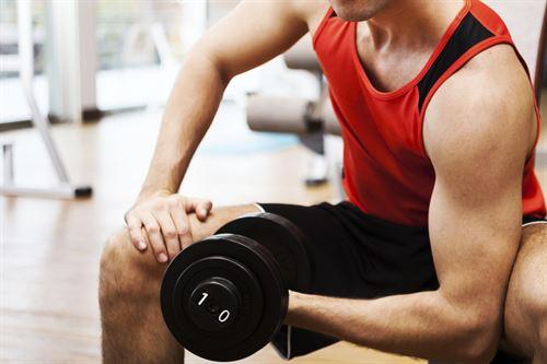 pesas ejercicio físico deporte