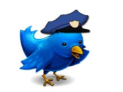 twitter policía