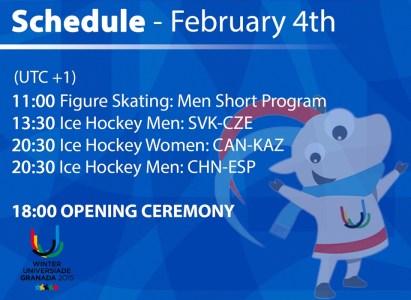 Programa 4 febrero