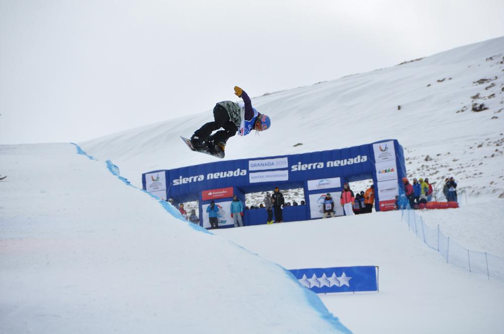 Universiada 2015-02-07 - Snowboard Halfpipe Queralt