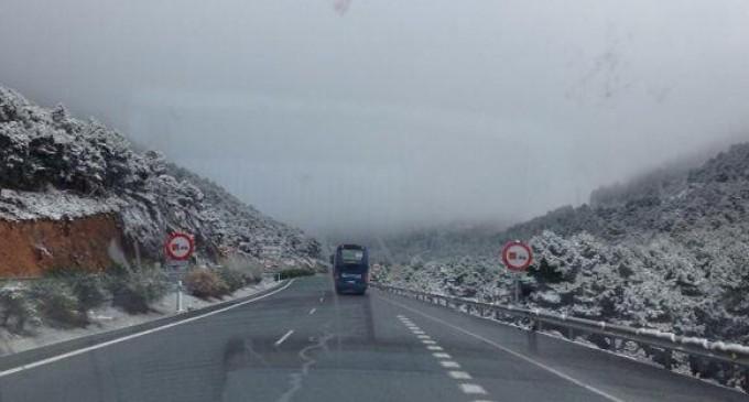 nieve-puerto de la mora