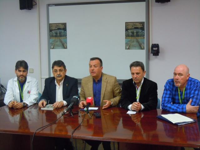 Congreso de radiológia Higinio almagro Manuel Bayona