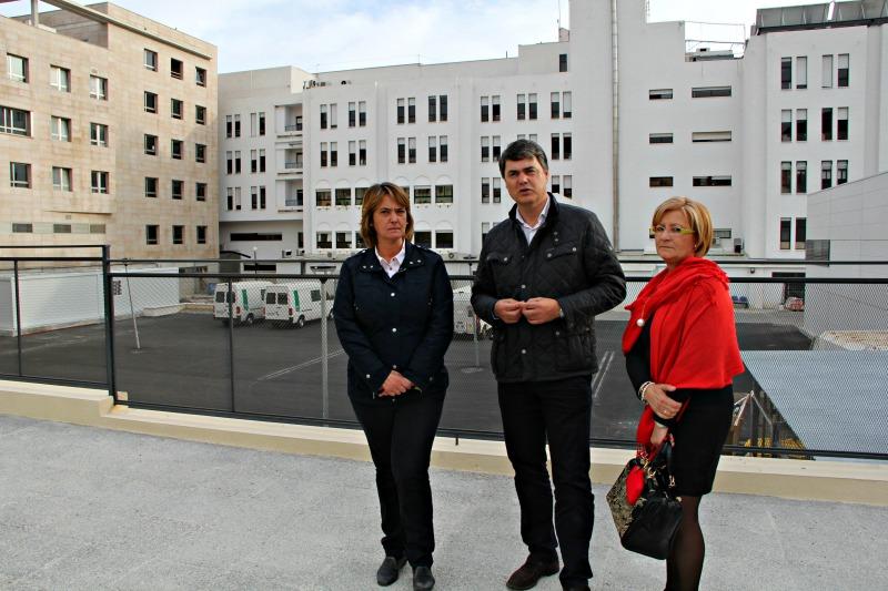 PP visita zona ampliación hospital Motril 08-03-15