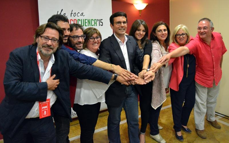 LIsta PSOE Paco Cuenca Elecciones 2015 (2)