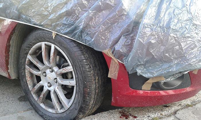 coche atropello