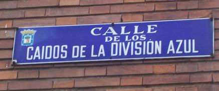 Caidos Division Azul