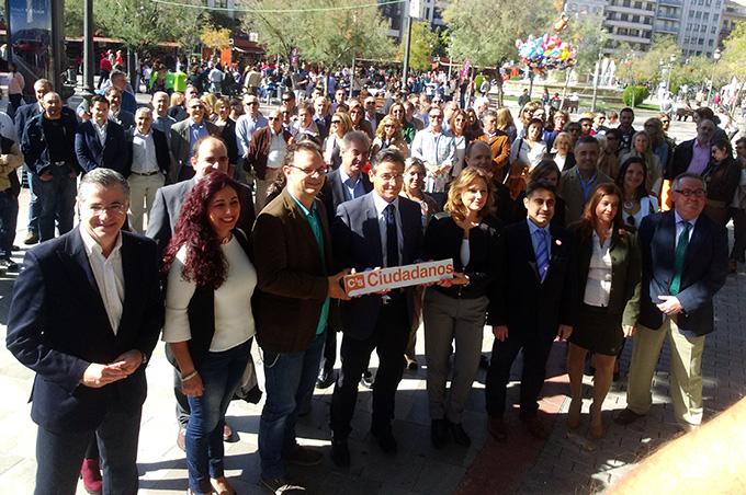 Candidatos de C's Granada al Congreso y al Senado 2
