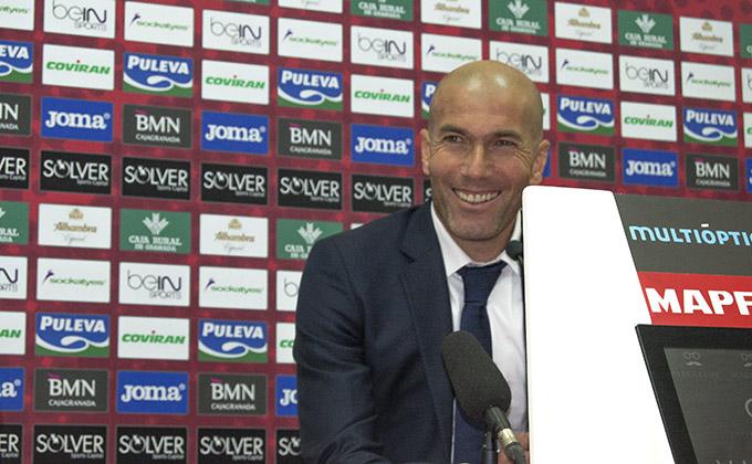 Zidane granada Real Madrid