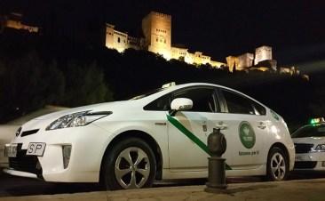 taxi granada alhambra