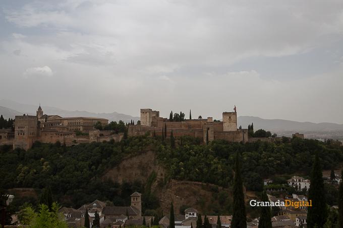 Calima Calor Granada miradores vistas-17 alhambra san nicolas