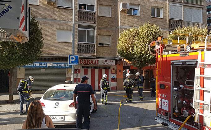 incendio-bomberos-granada-zaidin