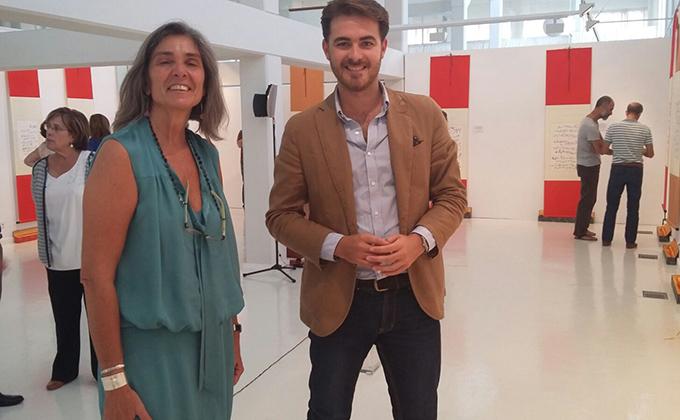 guillermo-quero-inaugura-la-exposicion-de-poesia-en-biblioteca-andalucia