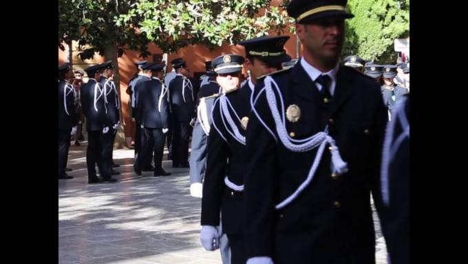 La-Policía-Local-de-Granada-celebra-el-día-de-su-Patrón-el-Santo-Ángel-Custodio