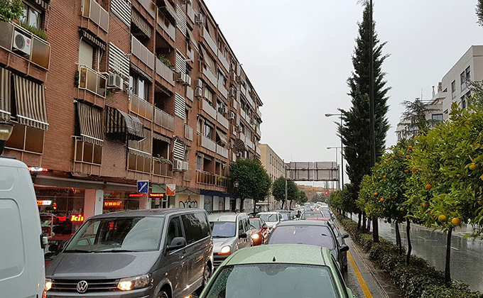 atasco-camino-de-ronda-lluvias-22-11-2016