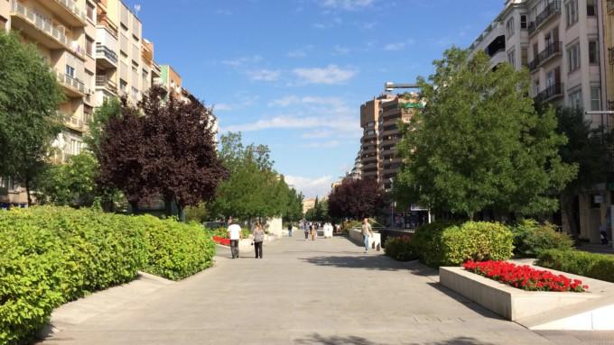 avenida de la constitucion granada capital