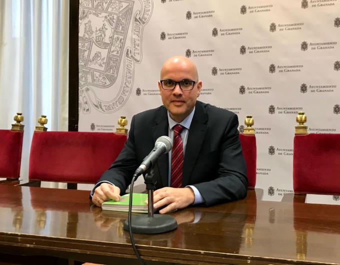 El concejal de Cs Raúl Fernández