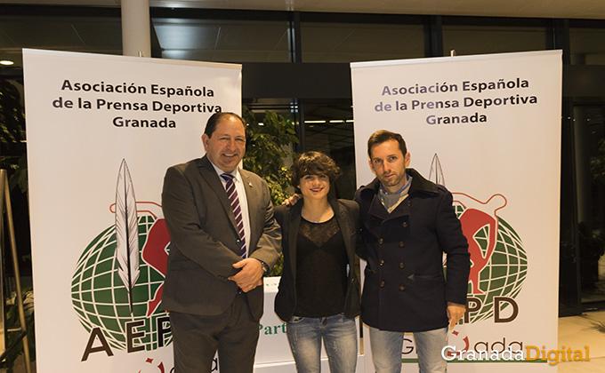 asociacion española prensa deportiva - photocall- gala deporte - caja rural - premio