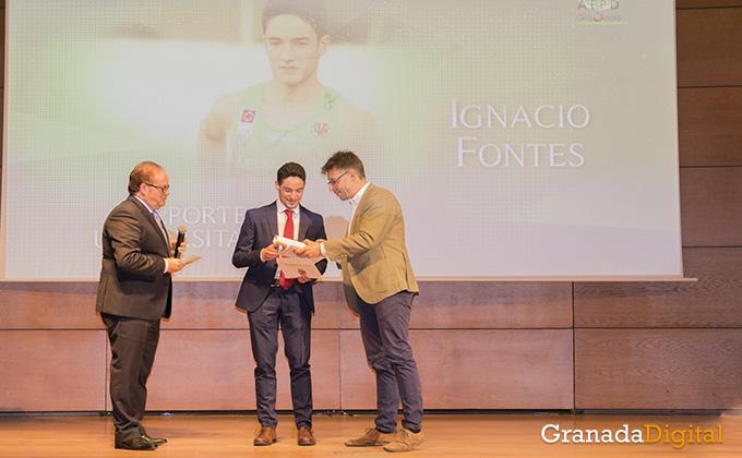 ignacio fontes- gala deporte - caja rural - premio