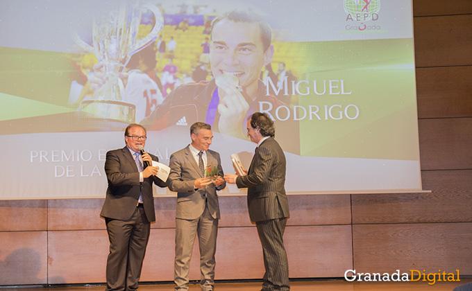 miguel rodrigo- gala deporte - caja rural - premio