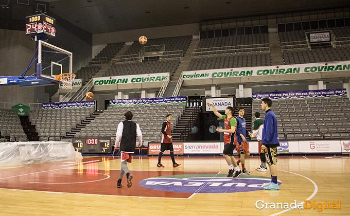 Entrenamiento Granada Baloncesto Coviran-14