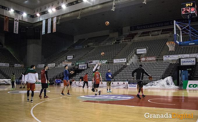 Entrenamiento Granada Baloncesto Coviran-19