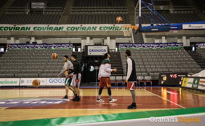 Entrenamiento Granada Baloncesto Coviran-2