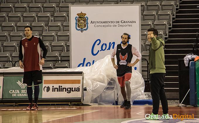 Entrenamiento Granada Baloncesto Coviran-28