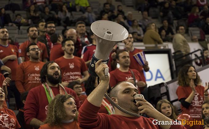 frente nazari - coviran granada - basket - baloncesto