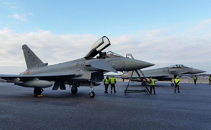 cazas eurofighter