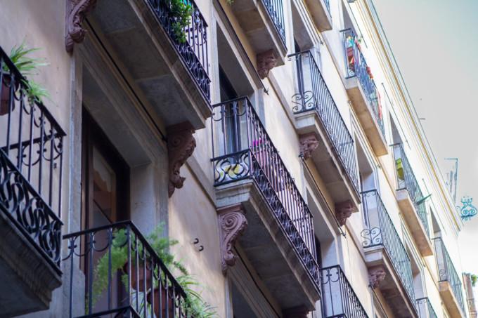 Historic Buildings in Barcelona