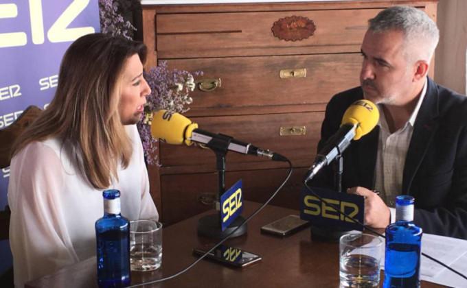 Susana Díaz en la SEr