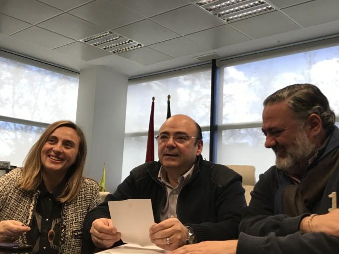Marifrán Carazo, Sebastián Pérez y Pablo García 21.1.19 (1)