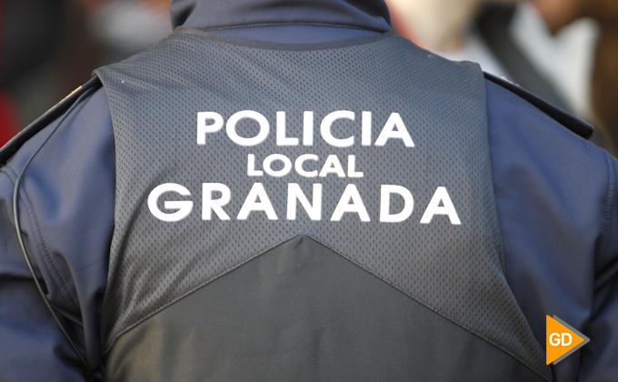 toma de Granada 2018-41 policia local