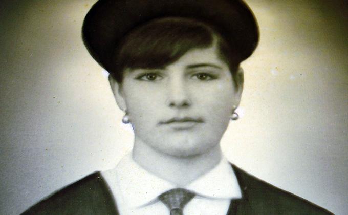 Gregoria de joven