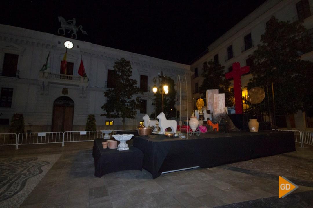 Nueva cruz del Ayuntamiento de Granada para el Dia de la Cruz