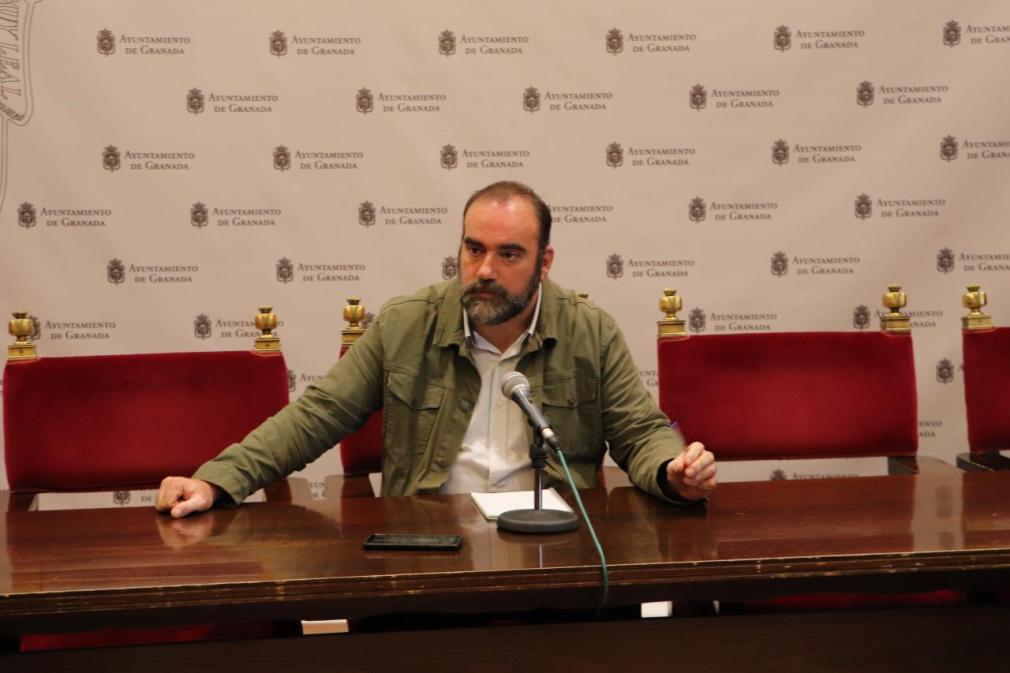 16-09-2019 Paco Puentedura durante la rueda de prensa