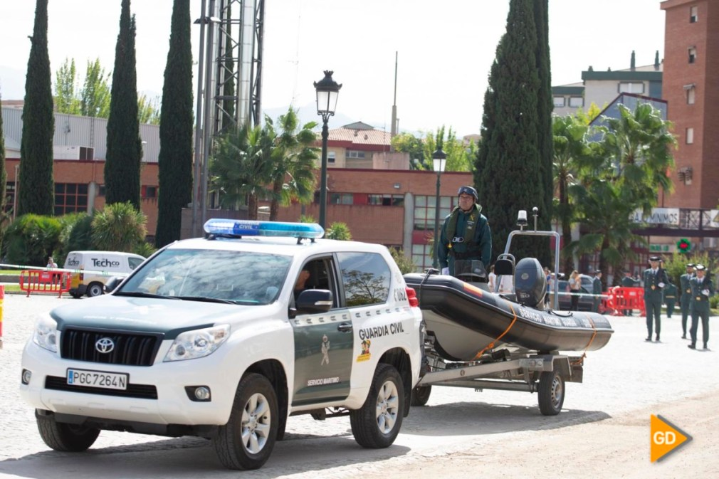 Actos por el 175 aniversario de la Guardia Civil en Granada