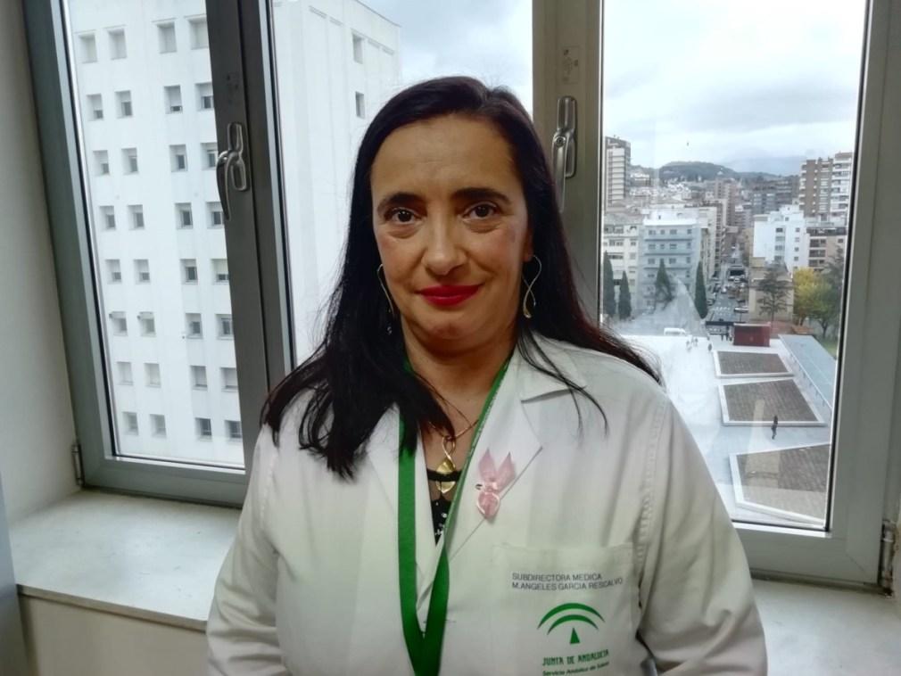 Granada.- María de los Ángeles García, nueva gerente del Hospital Universitario Virgen de las Nieves
