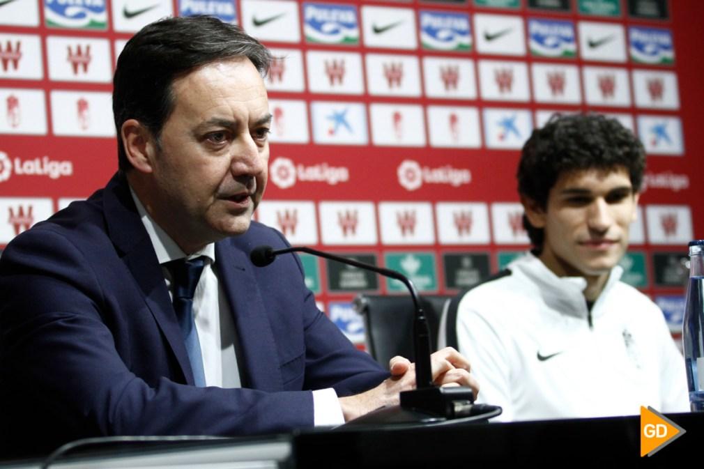 Presentación de Jesus Vallejo como nuevo jugador del Granada CF