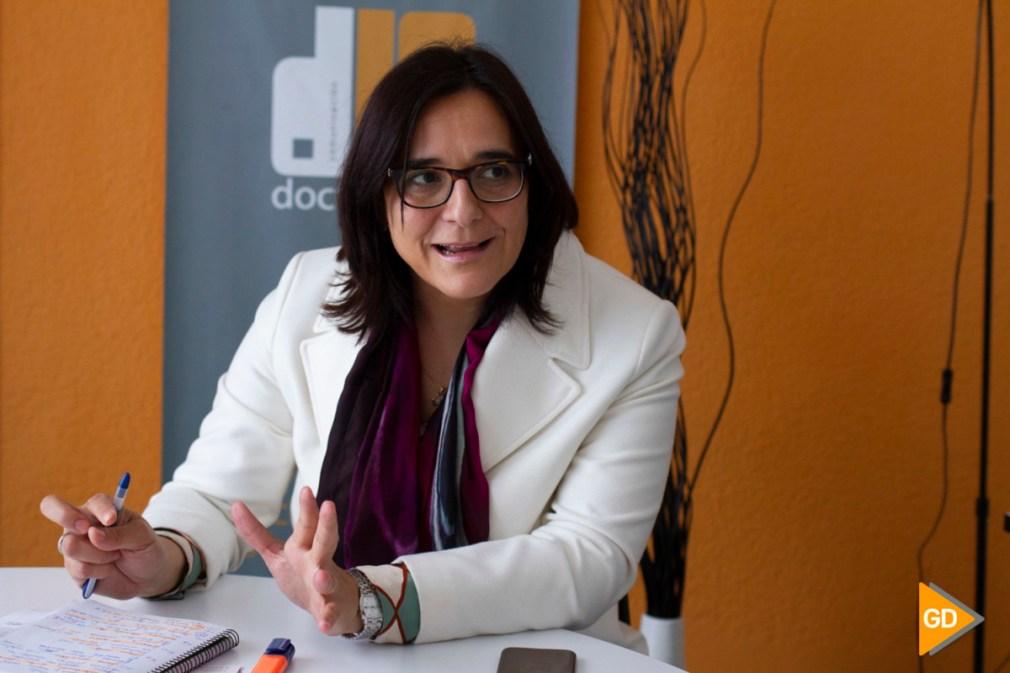Entrevista a la delegada de Agricultura María José Martín Gómez