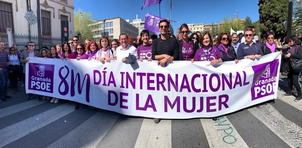 """Granada.- 8M.- Entrena pide una sociedad más libre y deja claro que """"los derechos ni se negocian ni se discuten"""""""