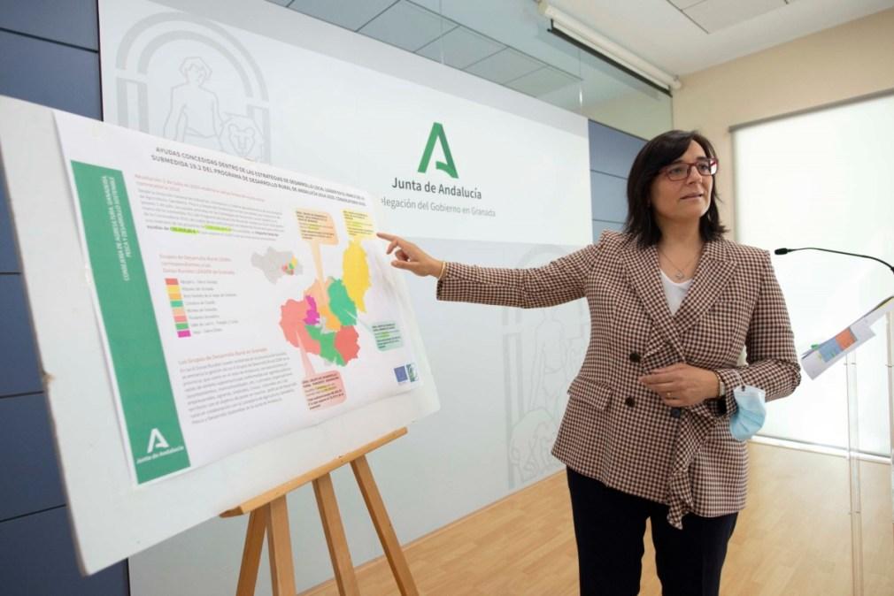 Granada.- Las ayudas de la Junta al desarrollo rural permitirán el impulso de una veintena de proyectos en la provincia