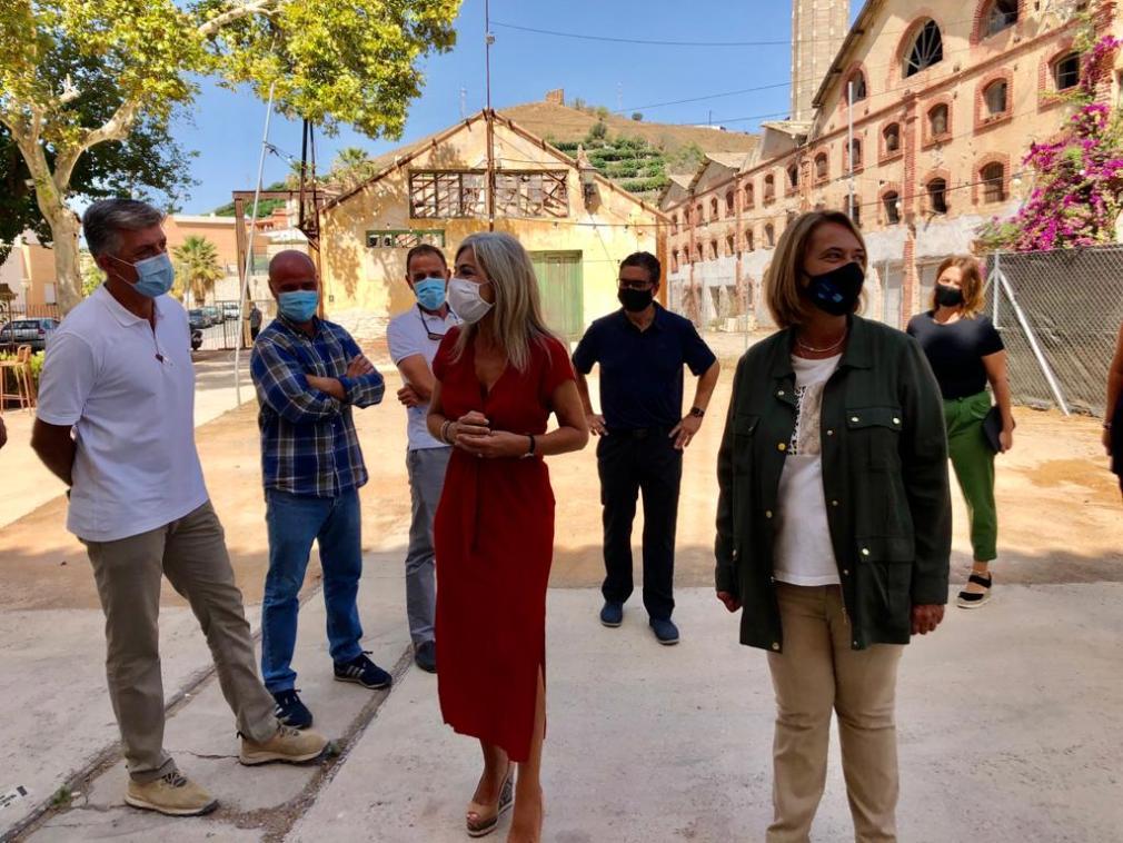 21 agosto 20 Visita Consejera Cultura a Fábrica del Pilar (2)