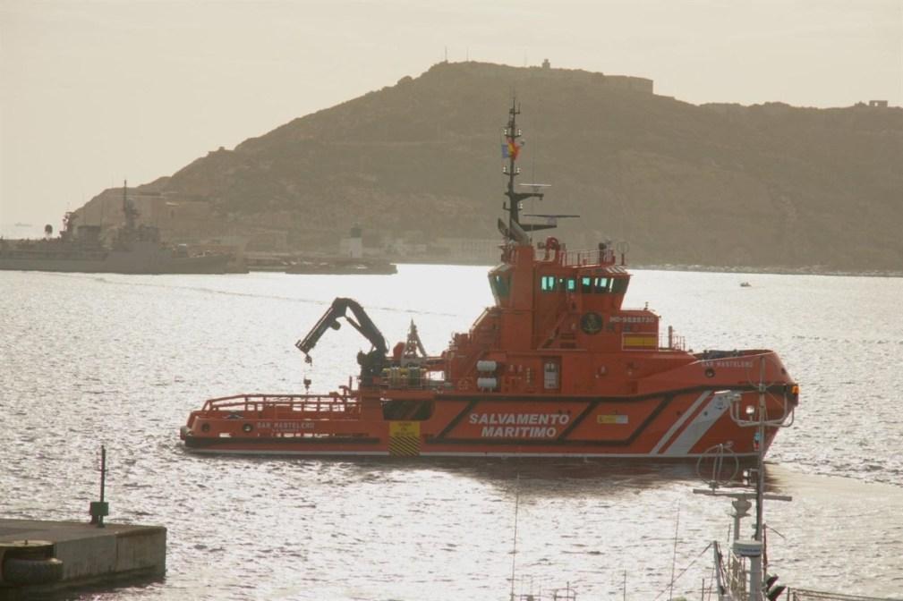 Embarcación de Salvamento Marítimo, en imagen de archivo - EUROPA PRESS - Archivo