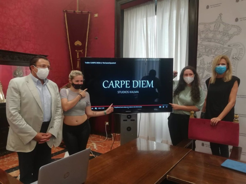 Granada2031.- El Ayuntamiento presenta el corto 'Carpe Diem' de la directora granadina de 16 años Rocío Canet