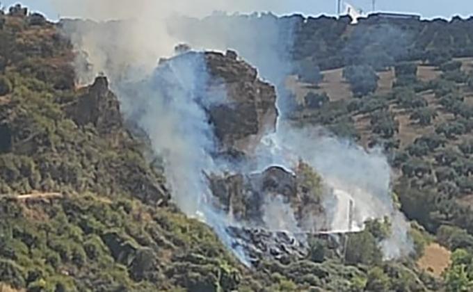 incendio paraje majadillas montefrio