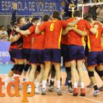 La selección española de voleibol comienza el Campeonato de Europa